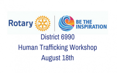 District 6990 Human Trafficking Workshop