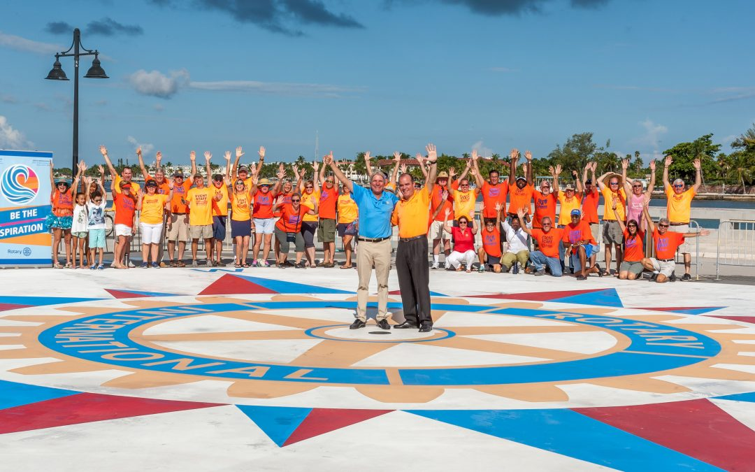 Key West Sunrise Rotary dedicates Compass Rose