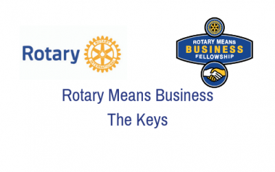 Rotary Means Business Keys – Tuesday, October 30th
