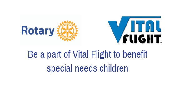 Be a part of Vital Flight for the Benefit of Special Needs Children