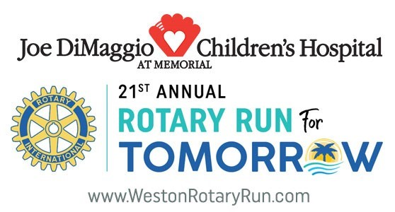 "Weston Rotary Club Announces Details on  21st Annual ""Run for Tomorrow"" Race & Festival"